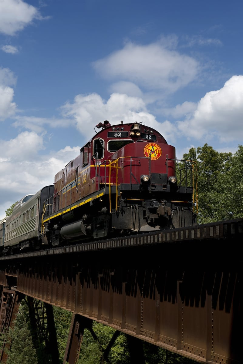 Ride The Train Van Buren Advertising Promotions Commission